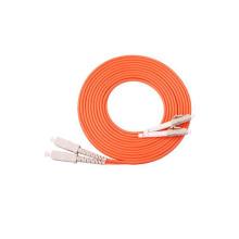 Conector LC-SC Multimodo Cable de conexión a fibra óptica dúplex