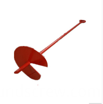 powder coated ground anchor
