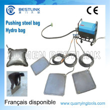 Marble Quarry Pushing Device for Marble