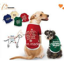 2015 New Design Günstige Hundekleidung Buntes Hund T-Shirt