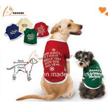 2015 nouveau design pas cher vêtements pour chiens t-shirt coloré pour chien