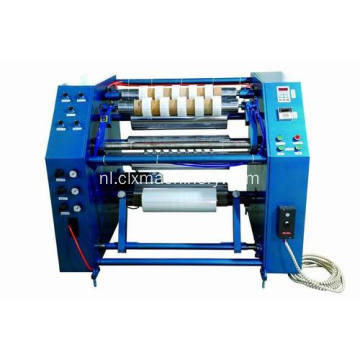 Stretch wrapping film snij machine