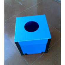 Good Quality for PP Corrugated Box Corrugated Plastic Voter Booth Box supply to Japan Supplier