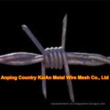 Barb alambre / galvanizado Concertina barred alambre valla / alambre de afeitar / PVC recubierto de alambre de afeitar / alambre de púas (30 años de fábrica)