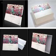 Custom cosmetic packaging boxes.