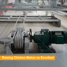 Broiler Chicken Cage Manure Scraper Cleaning Machine for Chicken Farm