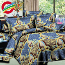 beautiful microfiber printed textile sheet bed home sets