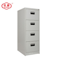 Professional custom steel 4 drawer vertical filing cabinet for A4