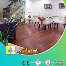 12.3mm E1 HDF Embossed Oak V-Grooved Waterproof Laminate Floor