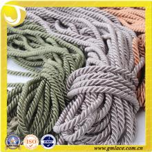 Textiles Cuerda decorativa para la decoración del amortiguador Decoración del sofá Sala Sitio de la cama