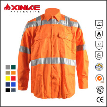 insect repellent drill shirt for coal mine industry