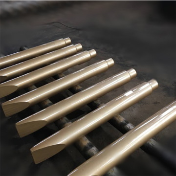 excavator spare parts montabert sizes of chisels
