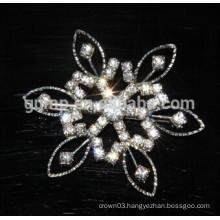 crystal rhinestone pin brooch