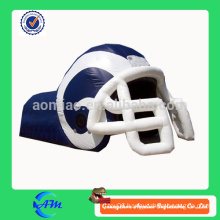 nfl new style inflatable football helmet with tunnel