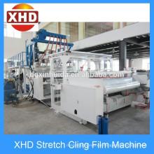 Semi Automatic LLDPE Extrusion Stretch Film Machine 12~50 Micro