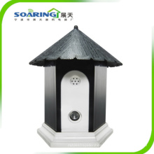 Ultrasonic Dog Bark Controller in Birdhouse Shape