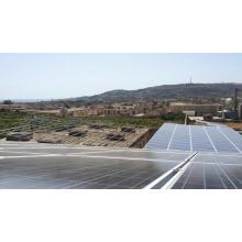 Energía solar solar de 100kw de Bluesun en el hogar del sistema de energía solar de la red doméstica para uso industrial