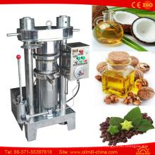 Prensa de aceite hidráulico Coco Sésamo Calabaza Olive Mill Machinery Prices