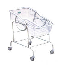 Hospital Stainless Steel Adjustable Baby Carriage