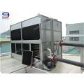 Nicht runde superdyma sparen wasserkühlung maschine hersteller 25ton Closed Circuit cross flow GHM-25 wasserkühlturm