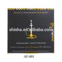 Pre-Puched-Aluminium-Folie Kunststoff beschichtet Shisha Aluminium Folien
