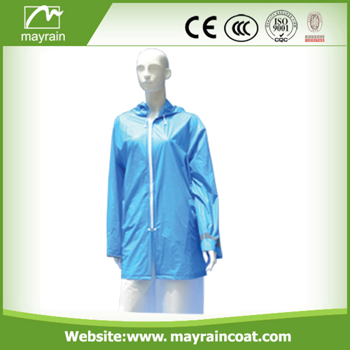 PVC Waterproof Outdoor Jacket