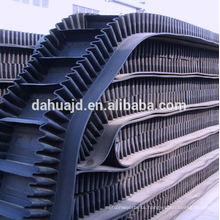 Chemical industry use acidproof alkali type steel cord rubber conveyor canvas belt with top quality