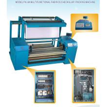 Machine d'inspection et d'emballage de tissu de fourrure