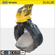 Excavator rock grapple, rock grabs, mini excavator grapple