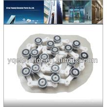 Instalación de escaleras mecánicas, costo de escaleras mecánicas, rodillo escalonado de cadena