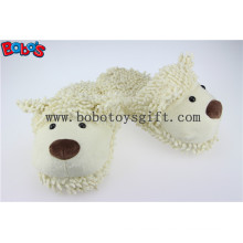 Cartoon Warm Women Slipper Plush Stuffed Sheep Indoor Shoes