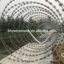razor concertina barbed wire border security razor wire BTO22 concertina wire