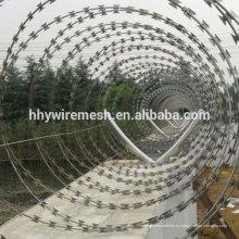 concertina колючая проволока бритвы провод бритвы BTO22 колючая проволока пограничной безопасности