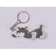 Tom Key Chain, Cat Shaped Key Ring (GZHY-KA-034)