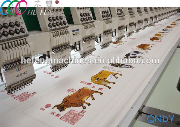 flat embroidery machine 1