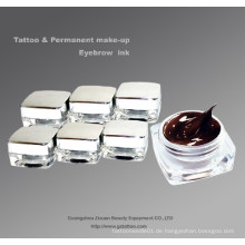 Permanent Makeup Augenbraue Tattoo Pigment