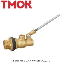 válvula de flotación de latón hidráulico tanque de agua tipo válvula