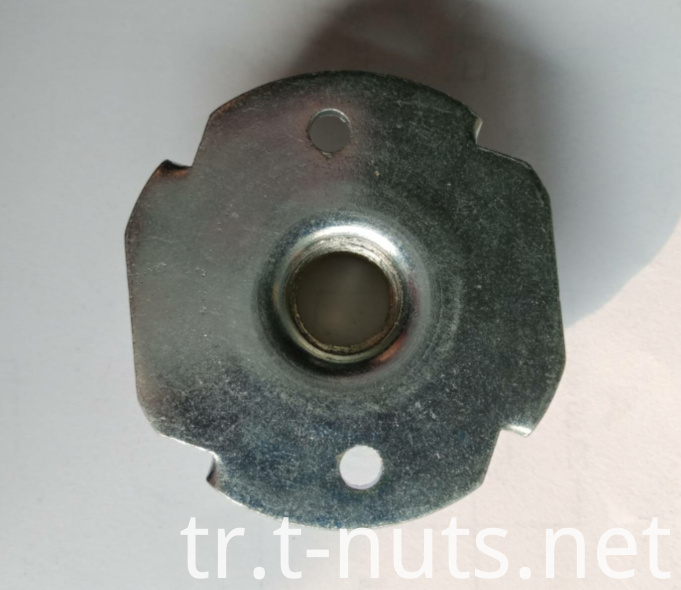 Steel Large size 4 Prongs T-Nuts