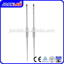 JOANLAB Diferentes tipos de pipetas de vidro Equipamento de laboratório de pipeta volumétrica