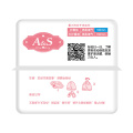 Mini Cotton Breathable Sanitary Pads with Wing