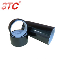 High performance  masking tape jumbo roll price and strong adhesion for bonding the electronics black PET film backing
