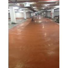 Red metal floor hardener