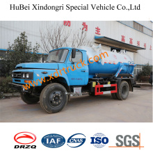 5.88cbm Sewage Suction Truck Dong Feng Brand