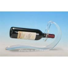 Support d'affichage de bouteille de vin acrylique personnalisé