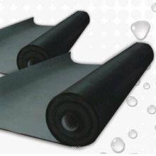 Membrana de goma de la prenda impermeable del grueso EPDM de 1.5mm para el tejado / el sótano de plantación / el sótano / el contrapiso con ISO
