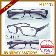 Eyeglasses Frame Producer&Wholesale Reading Glasses for Elderly (R14113)
