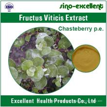 Arbusto natural Extracto de frutas de árbol casto