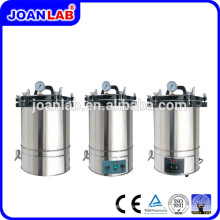 JOAN laboratorio portátil de presión de vapor esterilizador fabricante