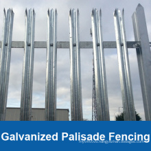 Hot Dipped Galvanized Coated Palisade Fencing (HP-FENCE0116)