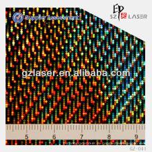 GZ-041, Hologramm General Master, beschichtetes Aluminium Stuck geprägtes Blatt